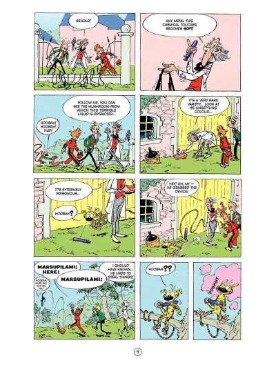 Page 4 Spirou and Fantasio tome 9 - The dictator and the mushroom