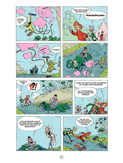 Page 5 Spirou and Fantasio tome 9 - The dictator and the mushroom