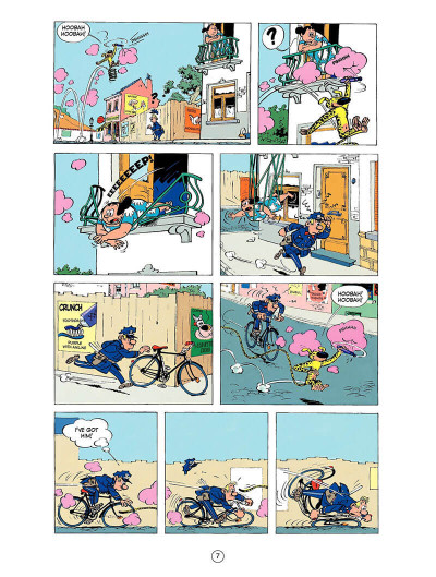 Page 6 Spirou and Fantasio tome 9 - The dictator and the mushroom
