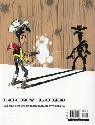 Dos Lucky Luke tome 55 - en anglais
