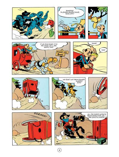 Page 3 Lucky Luke tome 55 - en anglais