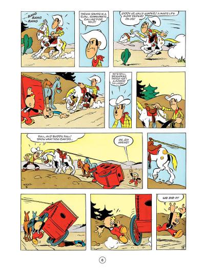 Page 5 Lucky Luke tome 55 - en anglais