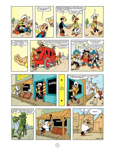 Page 6 Lucky Luke tome 55 - en anglais