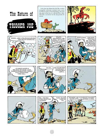 Page 2 Lucky Luke tome 56 - en anglais