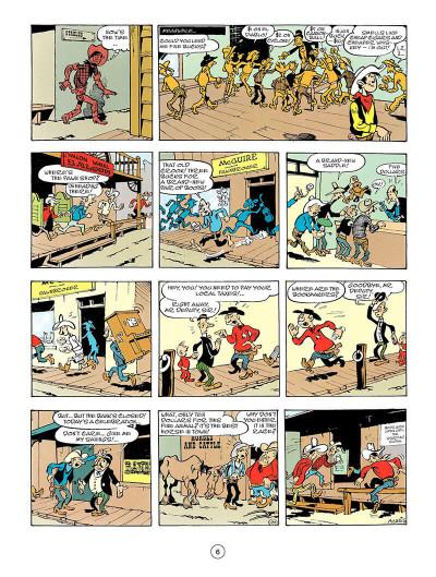 Page 5 Lucky Luke tome 56 - en anglais