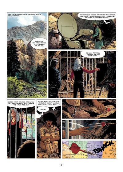 Page 4 XIII tome 21 (en anglais)