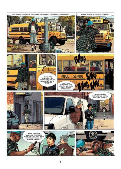 Page 5 XIII tome 21 (en anglais)
