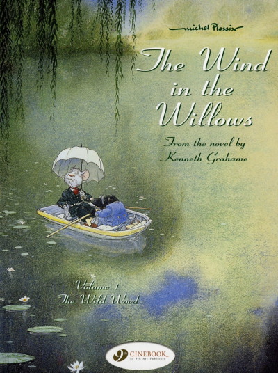 Couverture the wind in the willows tome 1 (en anglais)