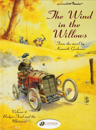 Couverture The wind in the willows tome 2 (en anglais)
