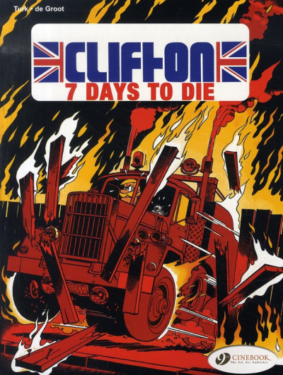 Couverture Clifton tome 3 - en anglais - seven days to die
