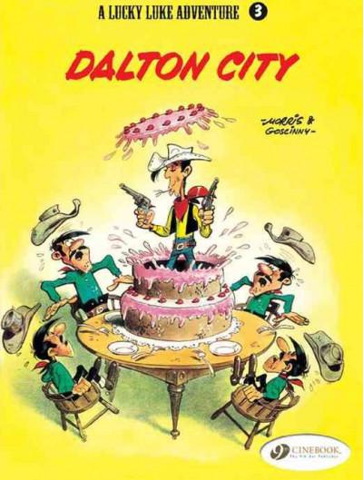 Couverture Lucky luke tome 3 - dalton city (en anglais)