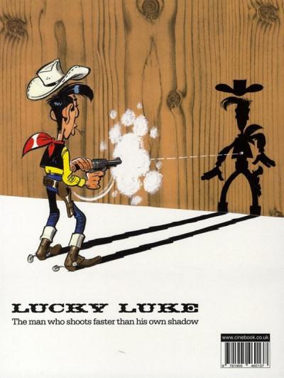 Dos Lucky luke tome 3 - dalton city (en anglais)
