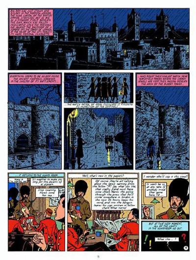 Page 1 Blake and Mortimer tome 1 (en anglais)