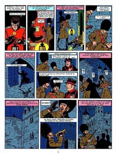 Page 2 Blake and Mortimer tome 1 (en anglais)