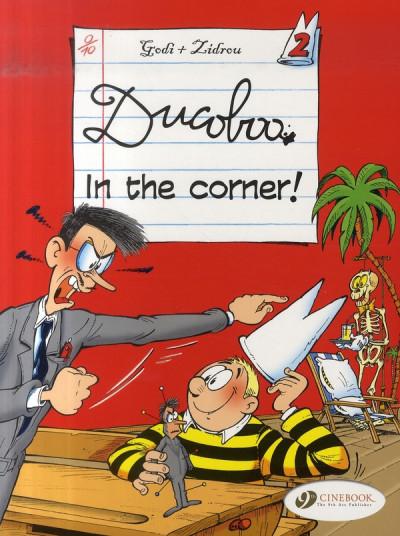 image de Ducoboo tome 2 - in the corner ! (en anglais)