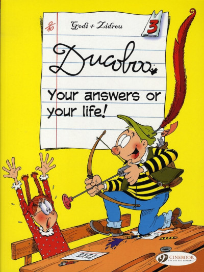 image de Ducoboo tome 3 - your answers or your life ! (en anglais)