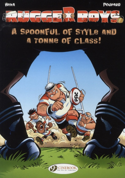 image de Rugger boys tome 2 - a spoonful of style and a tonne of class !