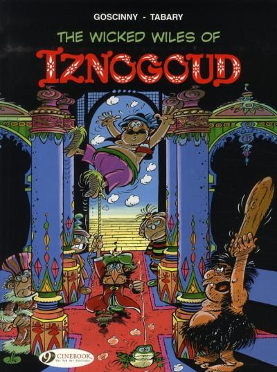 Couverture Iznogoud tome 1 - the wicked wiles of iznogoud