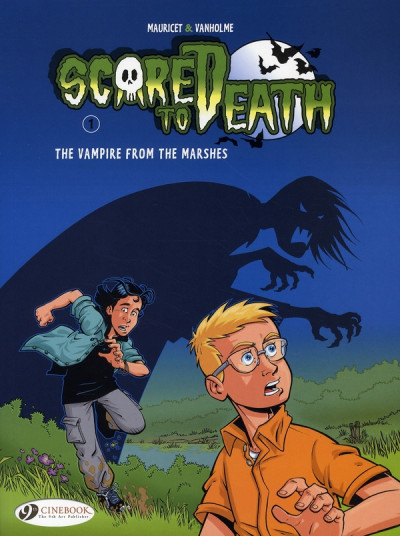 image de Scared to death tome 1 - the vampire from the marshes