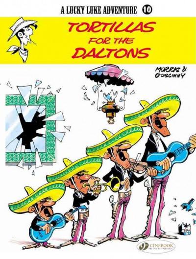 Couverture Lucky luke tome 10 - tortillas for the daltons (en anglais)