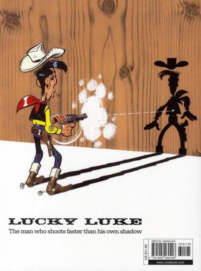Dos Lucky luke tome 10 - tortillas for the daltons (en anglais)