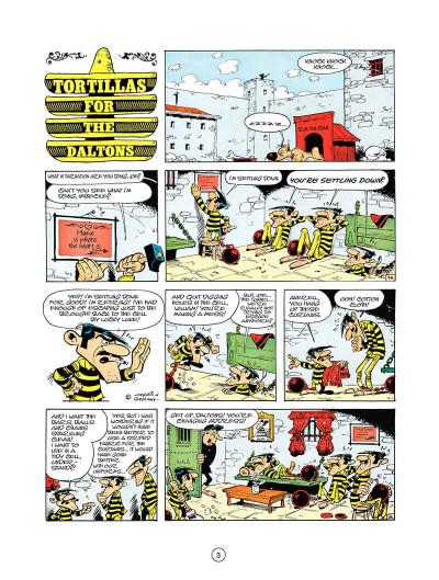 Page 2 Lucky luke tome 10 - tortillas for the daltons (en anglais)