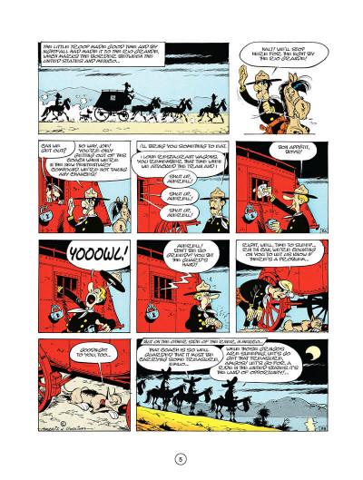 Page 4 Lucky luke tome 10 - tortillas for the daltons (en anglais)