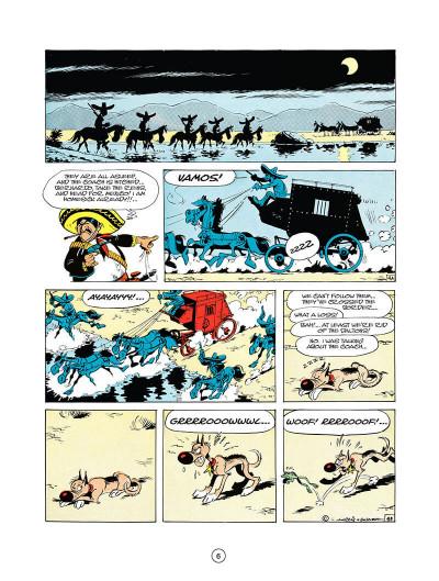 Page 5 Lucky luke tome 10 - tortillas for the daltons (en anglais)