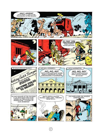 Page 6 Lucky luke tome 10 - tortillas for the daltons (en anglais)