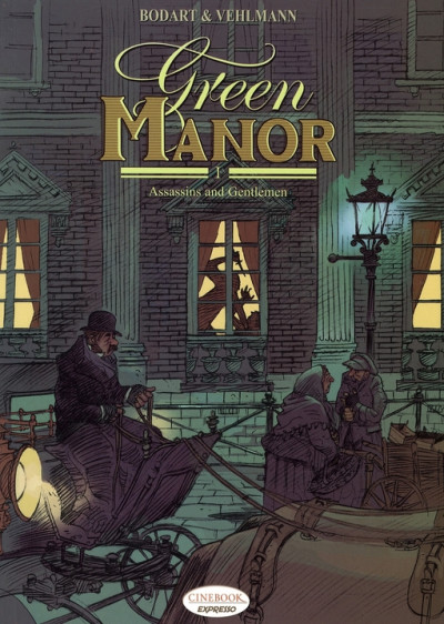 Couverture Green manor tome 1 - en anglais - assassins and gentlemen
