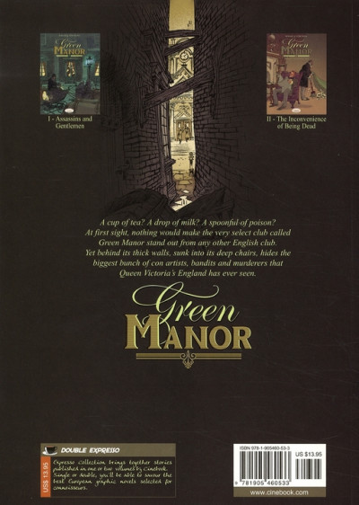 Dos Green manor tome 1 - en anglais - assassins and gentlemen