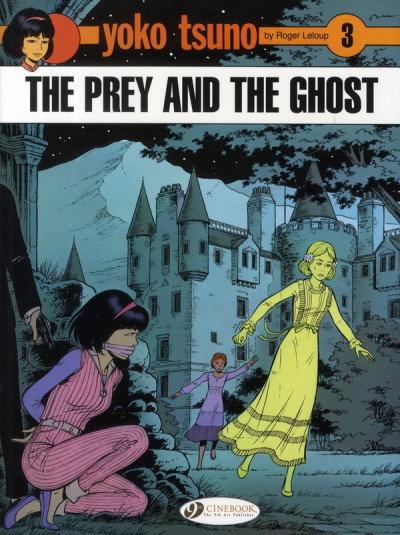 Couverture Yoko tsuno tome 3 - the prey and the ghost (en anglais)