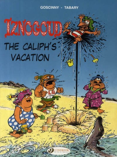 Couverture Iznogoud tome 2 - the caliph's vacation