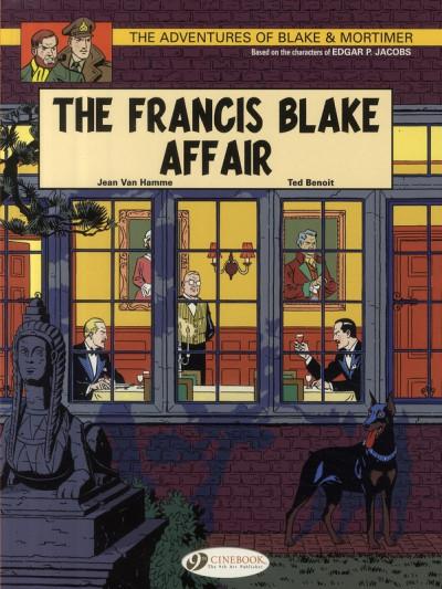 Couverture Blake and Mortimer tome 4 (en anglais)