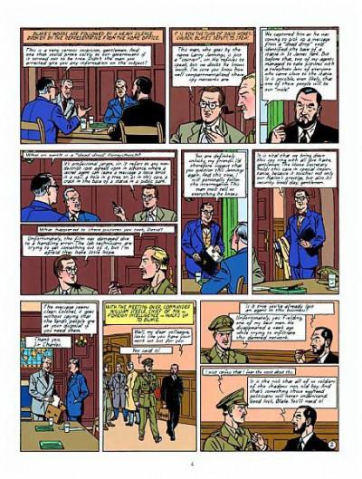 Page 2 Blake and Mortimer tome 4 (en anglais)