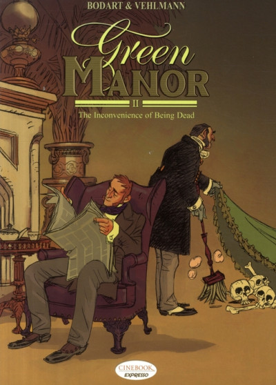 Couverture Green manor tome 2 - en anglais - the inconvenience of being dead
