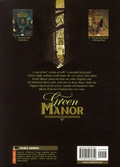Dos Green manor tome 2 - en anglais - the inconvenience of being dead