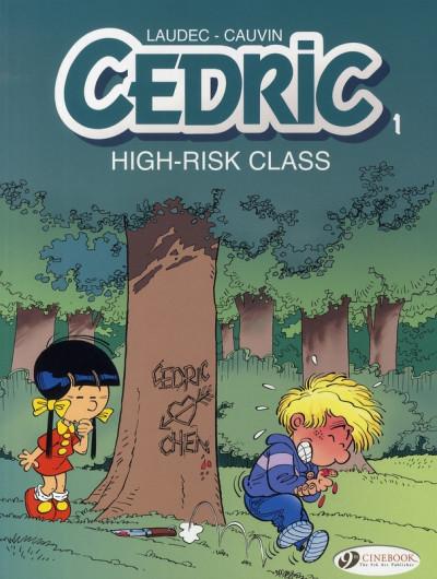 image de Cedric tome 1 - high risk class (en anglais)
