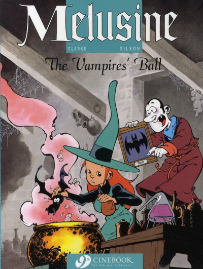 image de Mélusine tome 3 - the vampires' ball