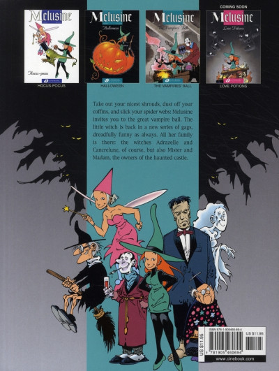 Dos Mélusine tome 3 - the vampires' ball