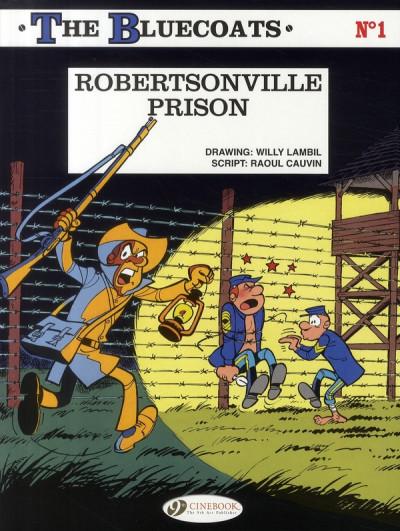 image de The bluecoats tome 1 - robertsonville prison