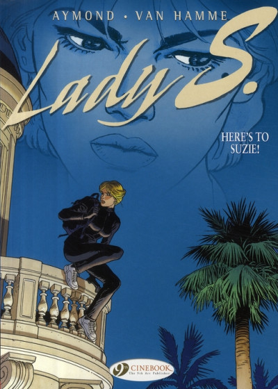 Couverture Lady s. tome 1 - en anglais - here's to suzie !