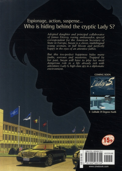Dos Lady s. tome 1 - en anglais - here's to suzie !