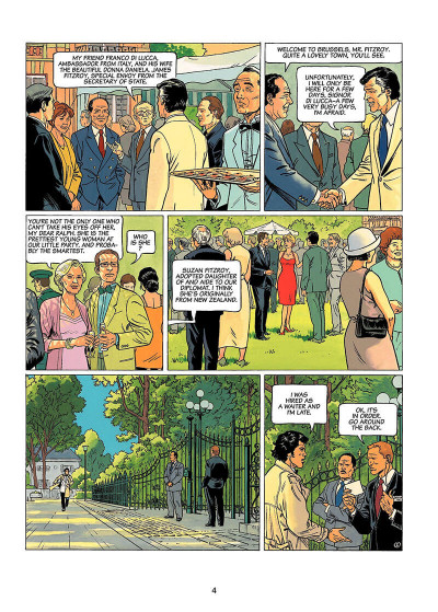 Page 3 Lady s. tome 1 - en anglais - here's to suzie !