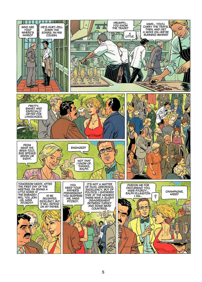 Page 4 Lady s. tome 1 - en anglais - here's to suzie !