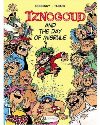 Couverture Iznogoud tome 3 - and the day of misrule