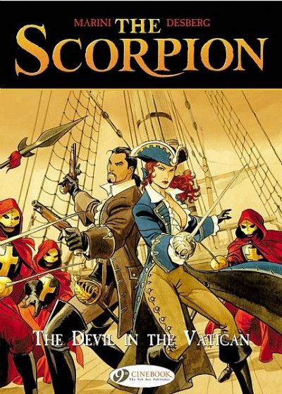Couverture The scorpion tome 2 - the devil in the vatican - en anglais