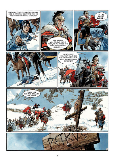 Page 4 The scorpion tome 2 - the devil in the vatican - en anglais