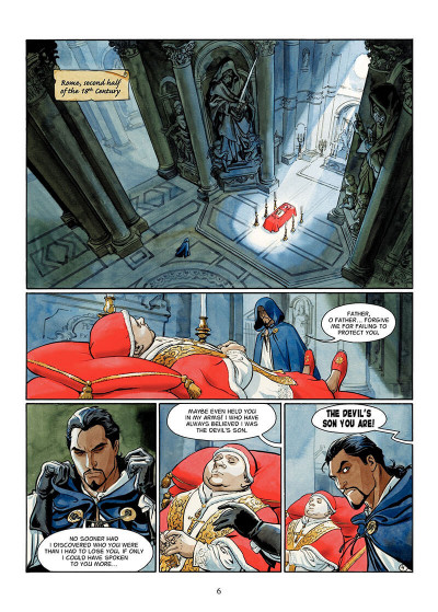 Page 5 The scorpion tome 2 - the devil in the vatican - en anglais