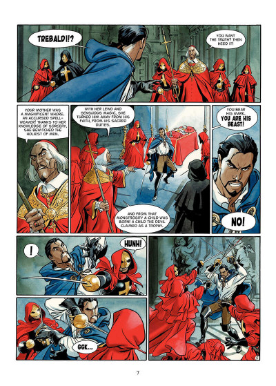 Page 6 The scorpion tome 2 - the devil in the vatican - en anglais